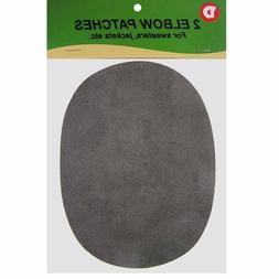 ULTRAHOLD 2 Faux-Suede Iron-On Elbow Patches 4.5  x 5.5 in -