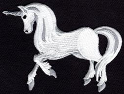 UNICORN Iron On Patch Pegasus Fantasy Myth