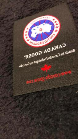 Canada Goose Woven Label. Iron on or Sew on. tag replacement