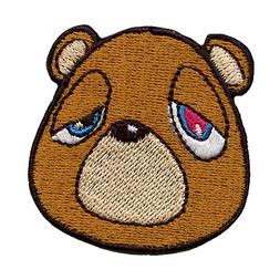 YZY Bear Droopy Eyes Iron On Embroidered Patch